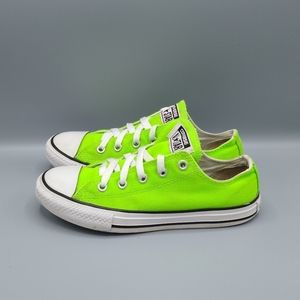 Converse All Star Neon Green Kids Unisex Sneakers